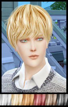 Rg-veda twinklestar: NewSea`s YU101 hairstyle retextured  - Sims 4 Hairs - http://sims4hairs.com/rg-veda-twinklestar-newseas-yu101-hairstyle-retextured/