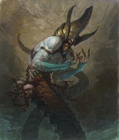 Diablo 3 art as seen in Kotaku (http://kotaku.com/5910657/the-art-of-diablo-iii)