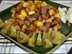 Friptura brasoveana, poza 1 Potato Salad, Potatoes, Ethnic Recipes, Food, Potato, Essen, Meals, Yemek, Eten