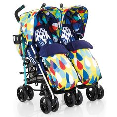 Pick-up a umbrella double stroller for newborn and toddler for a convenient walk with your youngsters