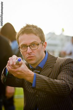 Chris Hardwick as Doctor Who by The.Erik.Estrada, via Flickr