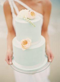 a noiva e o bolo!