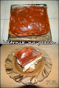 Slovak Recipes, Czech Recipes, Russian Recipes, Baking Recipes, Cake Recipes, Dessert Recipes, Sweet Desserts, Sweet Recipes, Toffee Bars