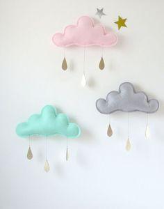 nuvem na decoracao do quarto do bebe.02