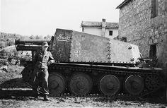 "15 cm Schweres Infanteriegeschütz 33 (Sf.) auf Pz.Kpfw. 38(t) Ausf. H ""Grille"" (Sd.Kfz. 138/1) Nr. I 12   par Panzer DB"