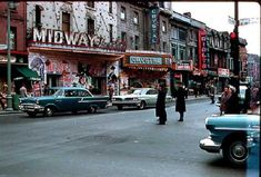 20 Pictures Of Montreal In The 1950s That Show A Simpler Yet Very Colourful Time - MTL Blog