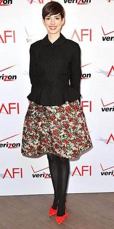 We're buzzing about the outfits Anne Hathaway, Emma Stone and more stars were just spotted in! Check them out, then vote – fashion-forward or fashion fail?