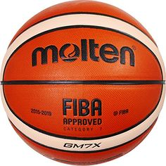 Molten GM7X Basketball (BGM7X) Composite Leather FIBA Approved Size 7 andlt