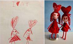 Στέλνετε τη ζωγραφιά του παιδιού σας και σας στέλνουν ένα ολόιδιο κουκλάκι!  thetoc.gr