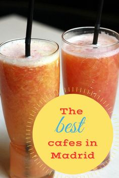 SO many delicious cafes in Madrid! Overwhelmed with choices, but here's the best! #Madrid #Cafes #yum