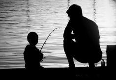 When we take Aiden fishing