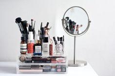 Como organizar tus productos de belleza #haircarestylingorganizer,