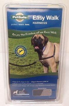 PetSafe Easy Walk BLACK/SILVER X-Large Dog Harness Girth Sizes 34-46