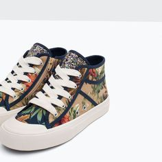 Image 7 of HIGH TOP SNEAKERS from Zara