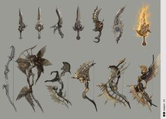 sunmeism :: '채널' 카테고리의 글 목록 Anime Weapons, Sci Fi Weapons, Weapon Concept Art, Game Concept Art, Fantasy Armor, Fantasy Weapons, Character Art, Character Design, Cool Swords
