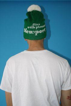 90s Newport Alive with Pleasure Beanie