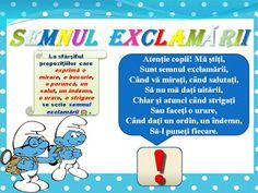 S.T.R.U.M.F.: Planse semne de punctuatie School Lessons, Geography, Homeschooling, Parenting, Education, Health, How To Make, Searching, Centre