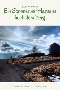 Die Wasserkuppe - Geschichte erleben, Wandern und Klettern, Rodeln und eine ruhige Kugel schieben - all das auf Hessens höchstem Berg... Kugel, Explore, World, Beach, Water, Restaurant, Travel, Outdoor, Group