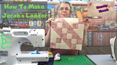 How To Make Jacob's Ladder - #ThursdayThreads - YouTube Pattern Blocks, Quilt Patterns, Jacob's Ladder, Half Square Triangles, Geocaching, Tin Boxes, Chickens Backyard, Quilt Tutorials, Vintage Quilts