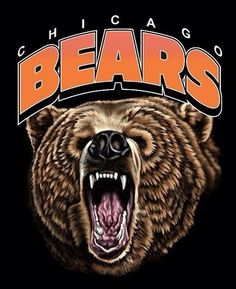 Bears Football, Nfl Chicago Bears, Football Memes, Chicago Blackhawks, Chicago Bears Pictures, Walter Payton, Bear Art, College Style, Sports Logos