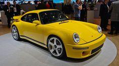New Yellow Bird Ruf Porsche beautiful and ultra fast Porsche 356, Porche 911, Porsche Cars, Volkswagen, Automobile, Car Competitions, Porsche Sports Car, Yellow Car, Geneva Motor Show