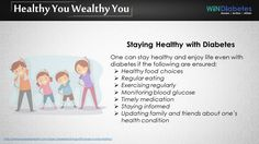 #Windiabetes shares #Tip on #Diabetes #StayingHealthy #HealthyLife #Diet #Exercise #DailyRoutine.