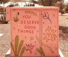 You deserve it! 🥳 by to Heal You Deserve The World, You Deserve Better, Kind Reminder, Self Reminder, Street Art, Cosmic Consciousness, Color Stories, Industrial Wedding, Wall Prints