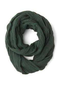 Seasonal Spin Circle Scarf, #ModCloth