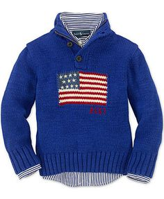 Ralph Lauren Kids Sweater, Little Girls Buttoned Crew Neck ...