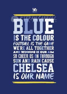 ☆CFC Chelsea Football, Chelsea Fc, Stamford Bridge, Football Players, Liverpool, Cheer, Blues, Legends, Artwork