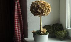 Living.cz - Vyrobte si stromek z dřevěných růžiček