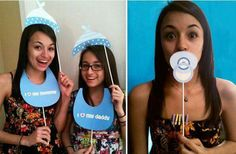Photo calle baby shower