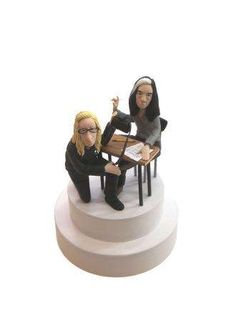 unorthodox cake toppers - With wedding season in full gear, brides and grooms will be on the hunt for unique decorations and designs, why not include these unorthodox cake t. Fun Wedding Cake Toppers, Wedding Cakes, Wedding Season, Sci Fi, Groom, Bride, Science Fiction, Bridal, Wedding Pie Table