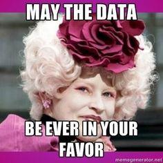 May the data be ever in your favor. Data teams and standardized test humor. - Teacher humor. Teacher meme.