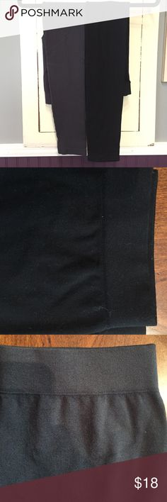 Leggings Both Gray and Black for sale. One Size fits most. Perfect for under dresses or just wearing with a cute top! 85% Modal, 7% Nylon. Brand New but no tags. One black, 2 gray Nikibiki Pants Leggings