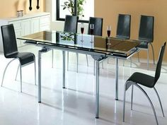 Modern Glass Dining Room Table why and how to buy 2017 dining room chairs online | modern dining
