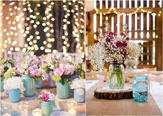 30 Best + Cheap Rustic Mason Jar Wedding Ideas