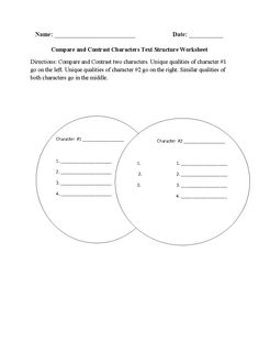 Labeling Chronological Order Text Structure Worksheet | stuff I ...