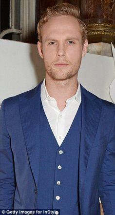 Actor, Jack Fox, son of James Fox.