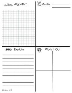 MATH: EXPLAIN YOUR REASONING WITH THE ICONS OF DEPTH AND COMPLEXITY - TeachersPayTeachers.com