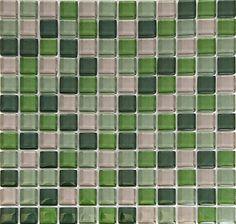 green kitchen backsplash  | ... Glass Tile for Kitchen Backsplash or Bathroom Purple Green D007 | eBay