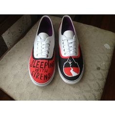 Sleeping with Sirens Shoes ($55) ❤ liked on Polyvore