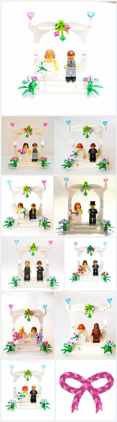 Custom Lego Minifigure Weding Favors, Bridal Cake Topper or display V3 ~ Wedding Lego ~ Bride & Groom Custom Lego ~ Lego Wedding Couple https://www.thedivinitybraid.com/listing/548840797/custom-lego-minifigure-weding-favors