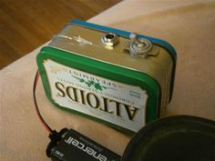 How to Build Your Own Mini Altoids Guitar Amp for About $5