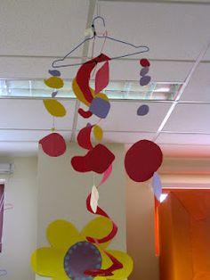 Grade 1 Kinetic Sculpture, inspired by Alexander Calder