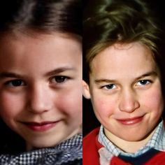 Similarity between Prince William Princess Charlotte