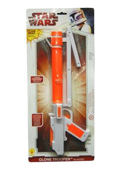 OFF or FREE SHIP -Clone trooper Blaster : Hard plastic gun replica. Very similar to the ones used by the Clone Troopers. Star Wars Costumes, Halloween Costumes For Girls, Baby Costumes, Halloween Kids, Clone Trooper Costume, Star Wars Clone Wars, Costume Accessories, Can Opener, Guns