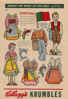 paper doll - portugal | Flickr - Photo Sharing!