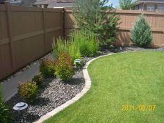 plant border flowerrs small shrubs make moviwn easy | Brick Border Edging5