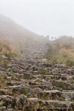 Inca steps- Inca Trail, Peru